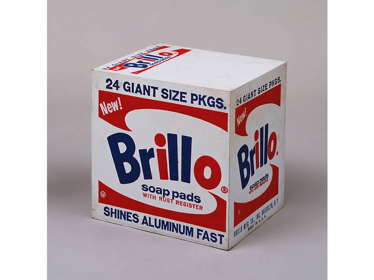 Andy Warhol, Brillo Box (Soap Pads) (1964)