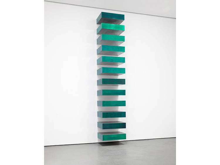 Donald Judd, Untitled (Stack) (1967)