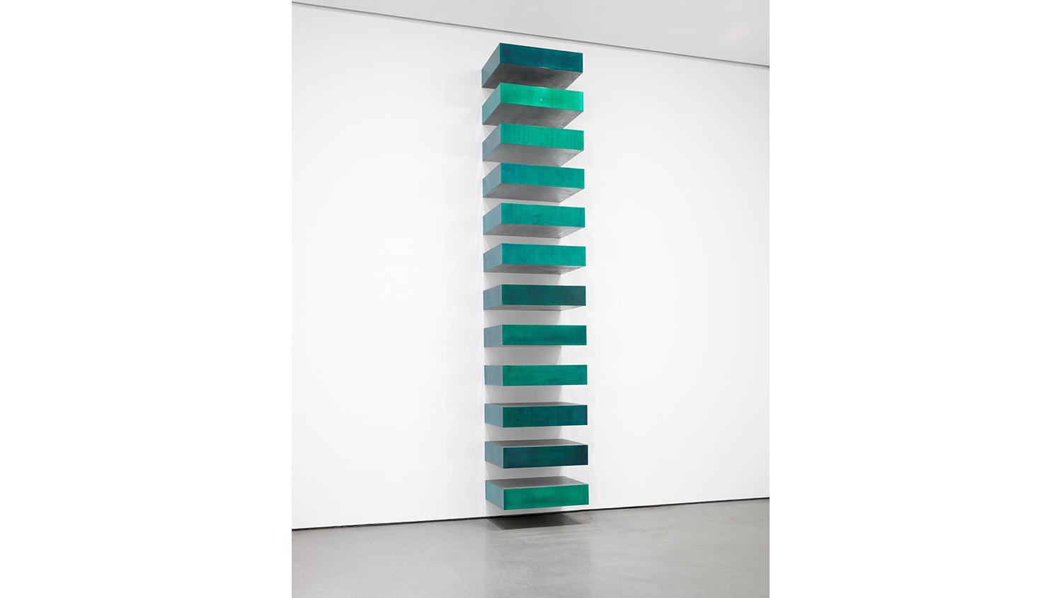Donald judd untitled stack 1967 for Donald judd stack 1972