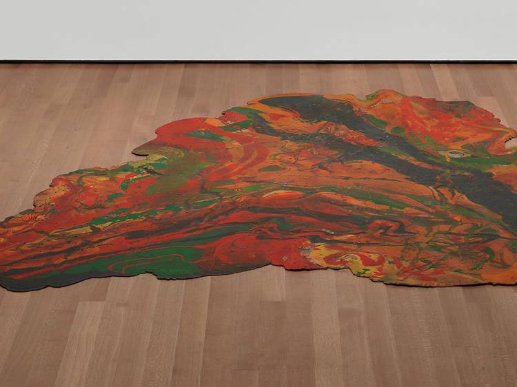 Lynda Benglis, Blatt (1969)