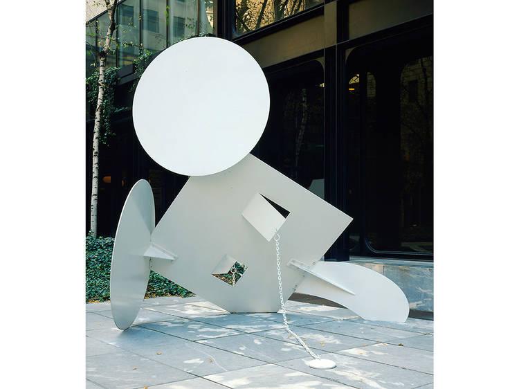 Claes Oldenburg, Geometric Mouse, Scale A (1975)