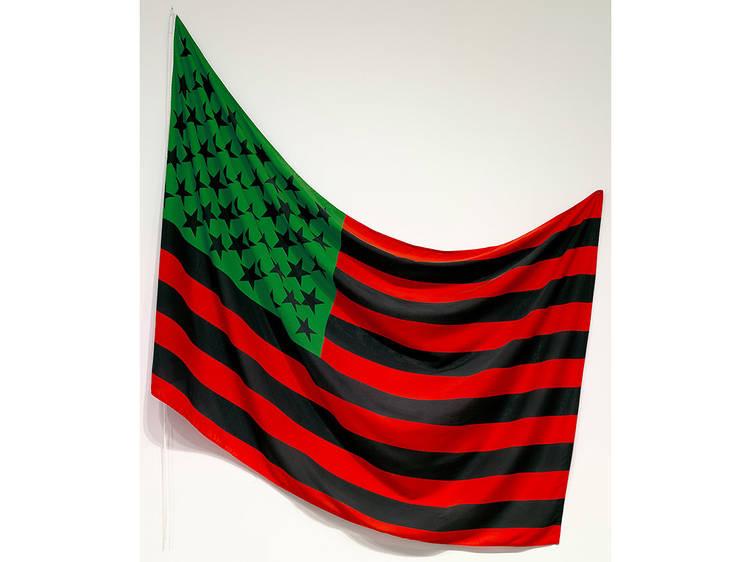 David Hammons, African-American Flag (1990)