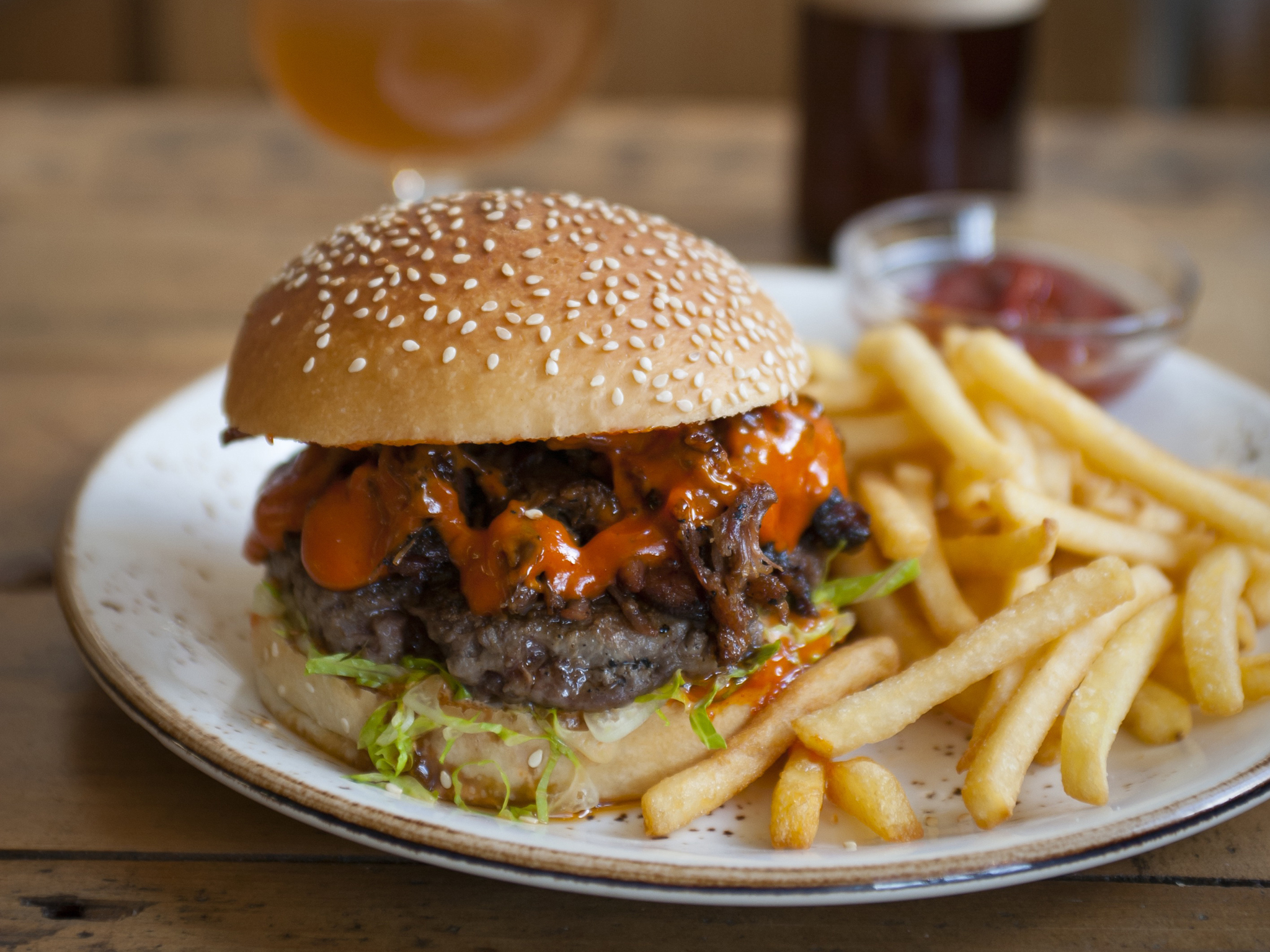 London's best burgers, Smokehouse islington