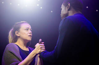 Sian Reese-Williams and Abdul Salis in 'The Human Ear'