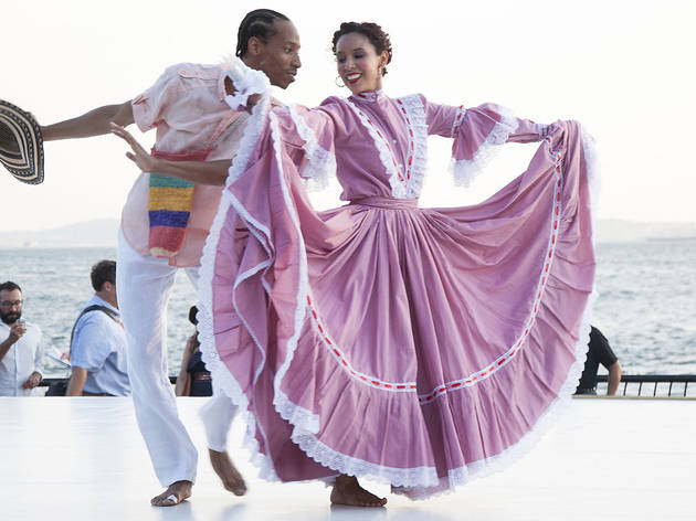 Check out pictures of the Evening of Colombian Dance in Battery Park