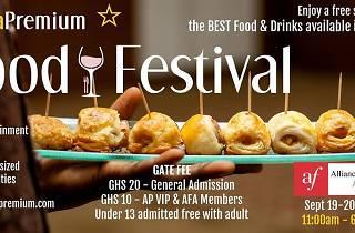 Accra Premium Food Festival, Airport, Accra Ghana