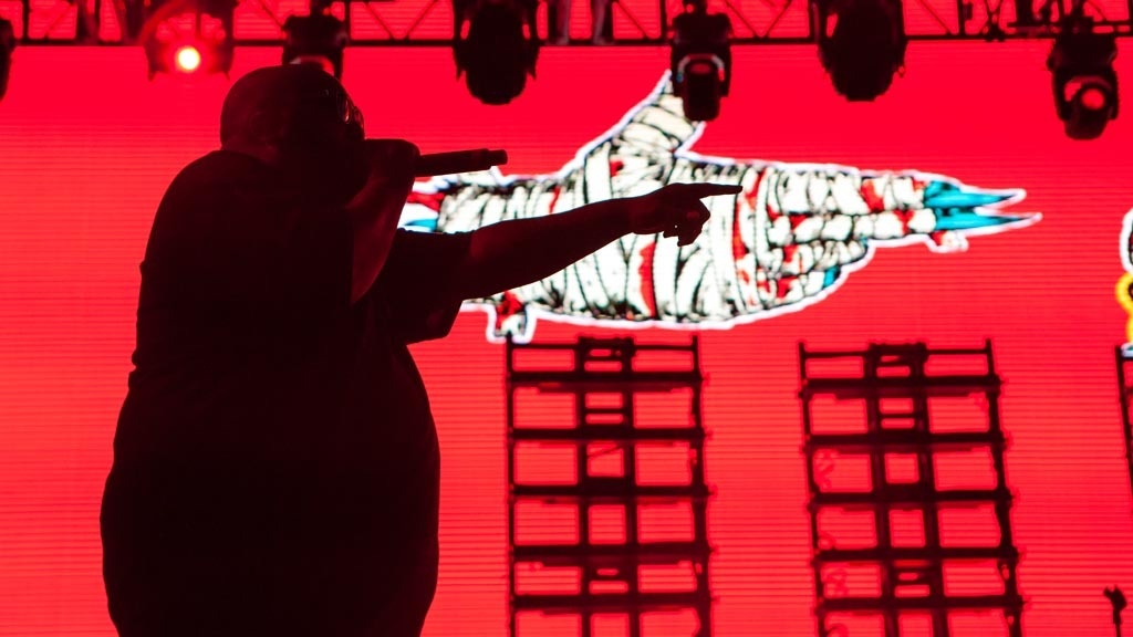 Run the Jewels at FYF 2015, day 1