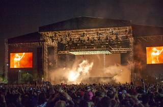 Kanye West at FYF 2015, day 1
