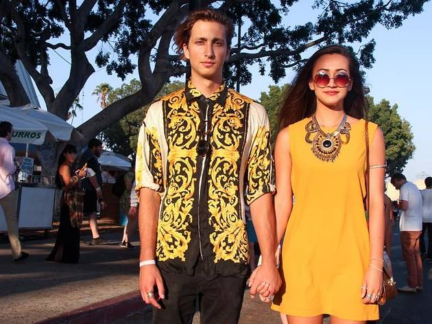 The most fashionable folks we saw at FYF this weekend