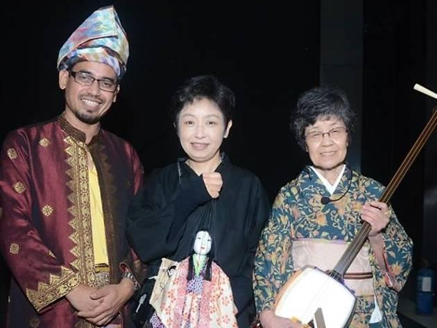 DiverseCity: Edo Ito Ayatsuri Ningyo x Kelantanese Shadow Play