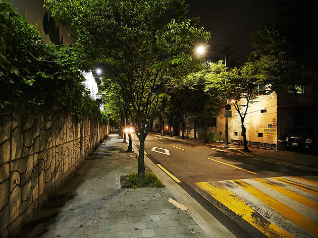 Hapjeong street view