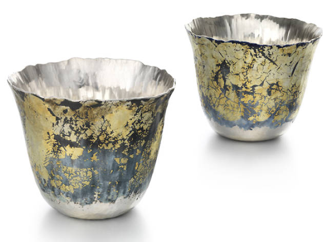 'Tectonic' beakers I and II, Malcolm Appleby and Jane Short