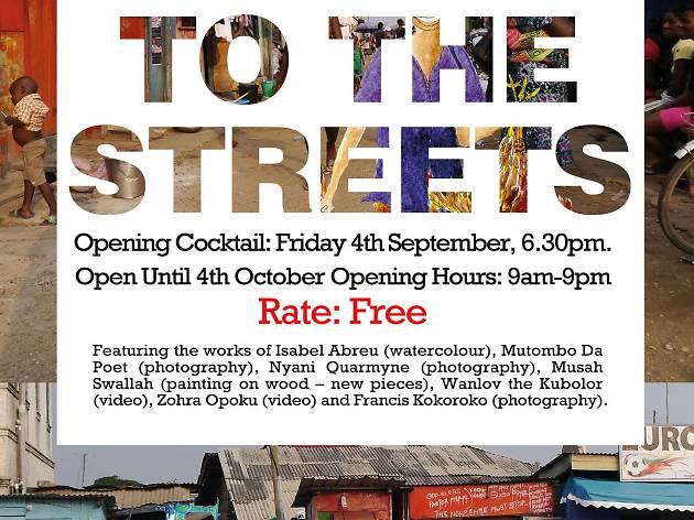Take me to the streets | Exhibition @ Alliance Francais
