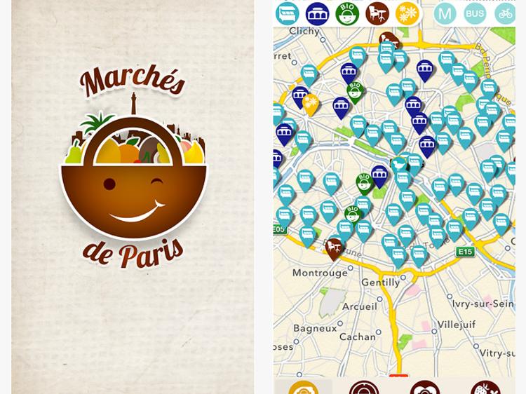 Marchés de Paris