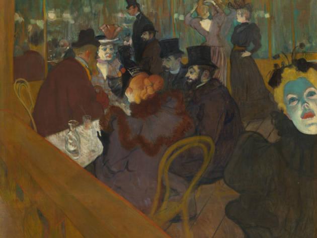 Henri de Toulouse-Lautrec Au Moulin Rouge