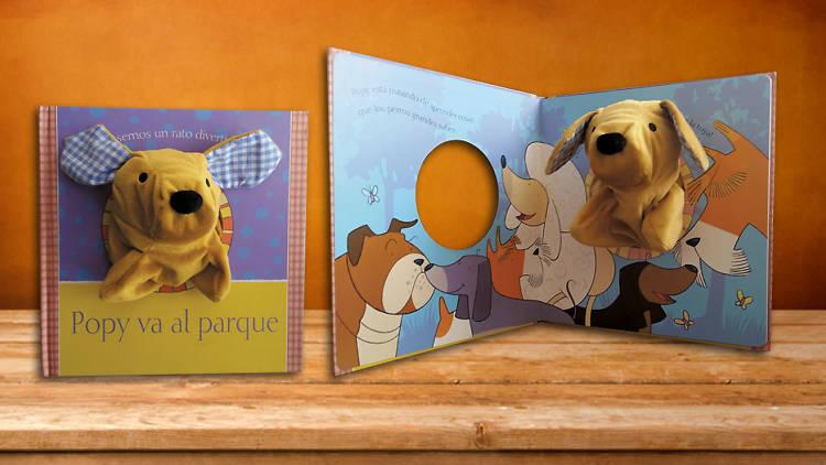 Libro para niños Popy va al parque