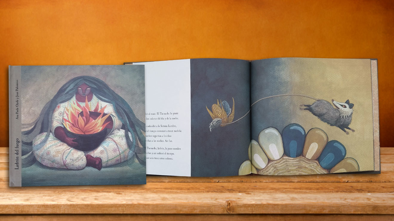 Libro para niños Ladrón del fuego