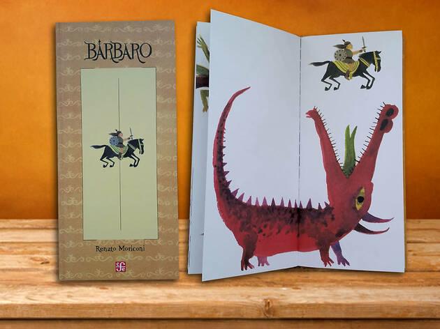 Libro para niños Bárbar
