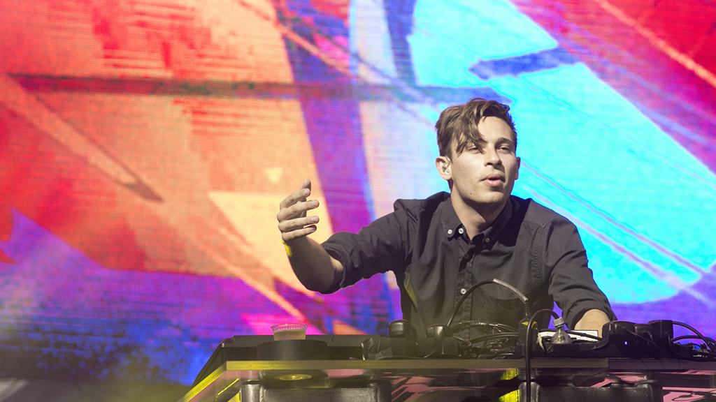 Flume at FYF 2015, day 2