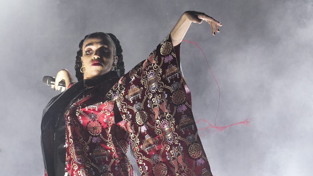 FKA twigs at FYF 2015, day 2
