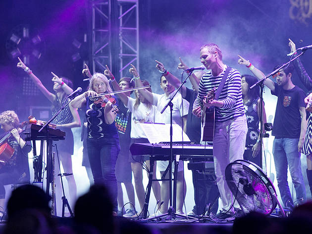 Belle & Sebastian at FYF 2015, day 2