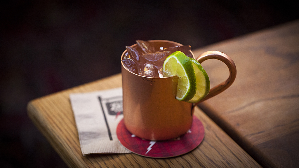 Moscow Mule at Tam O'Shanter