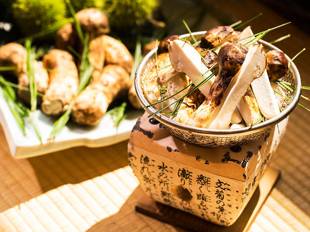 Gourmet Pine Mushroom Dishes at The Ritz-Carlton Seoul
