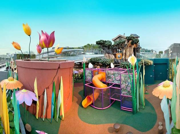 The best rooftop playgrounds in Singapore