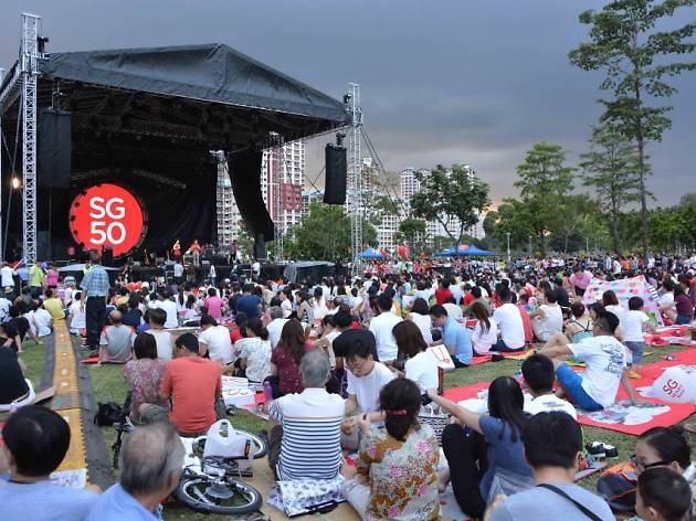 SG50 Concert Series in the Park