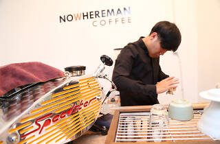 MMOxGTF: Nowhereman Coffee pop-up café