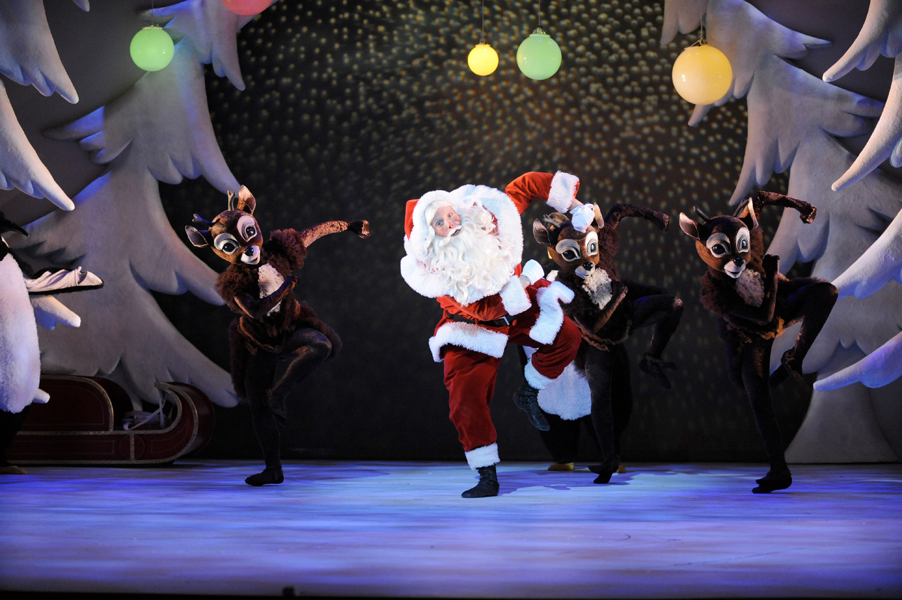 Family Christmas shows in London
