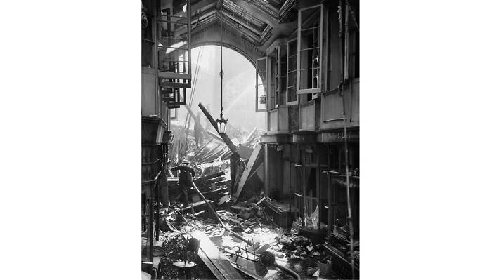 Burlington Arcade, September 17 1940