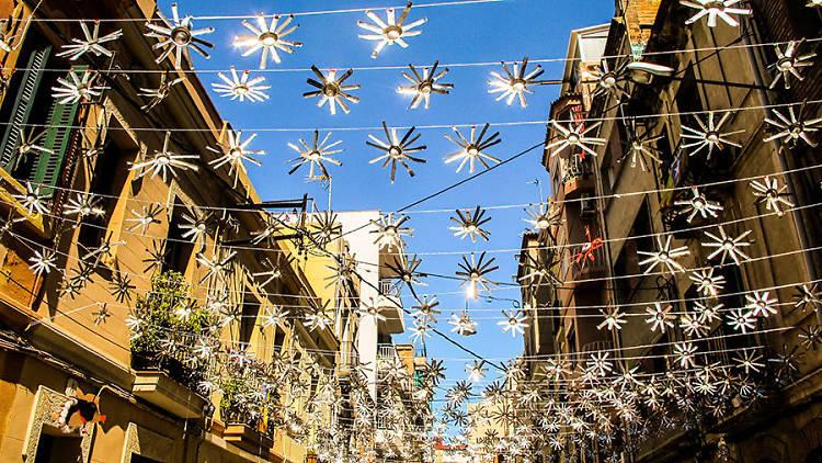 Carrer Santa Cecilia festa major 2015