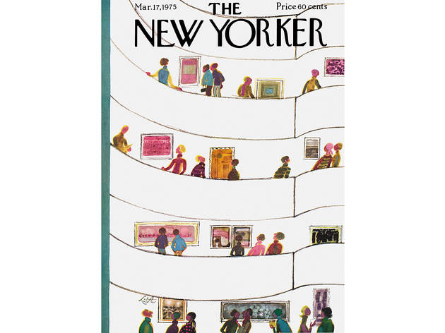 Laura Jean Allen, The New Yorker Cover, March 17, 1975