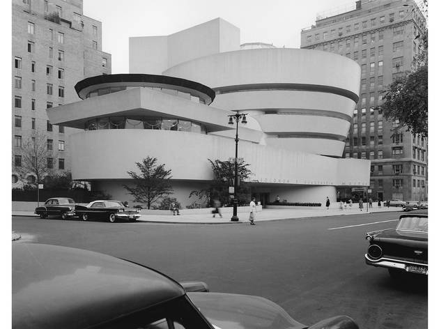 Robert E. Mates, Historic view of the Solomon R. Guggenheim Museum