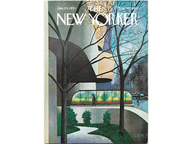 Charles E. Martin, The New Yorker Cover, January 24, 1970