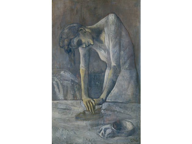 Pablo Picasso, Woman Ironing, 1904