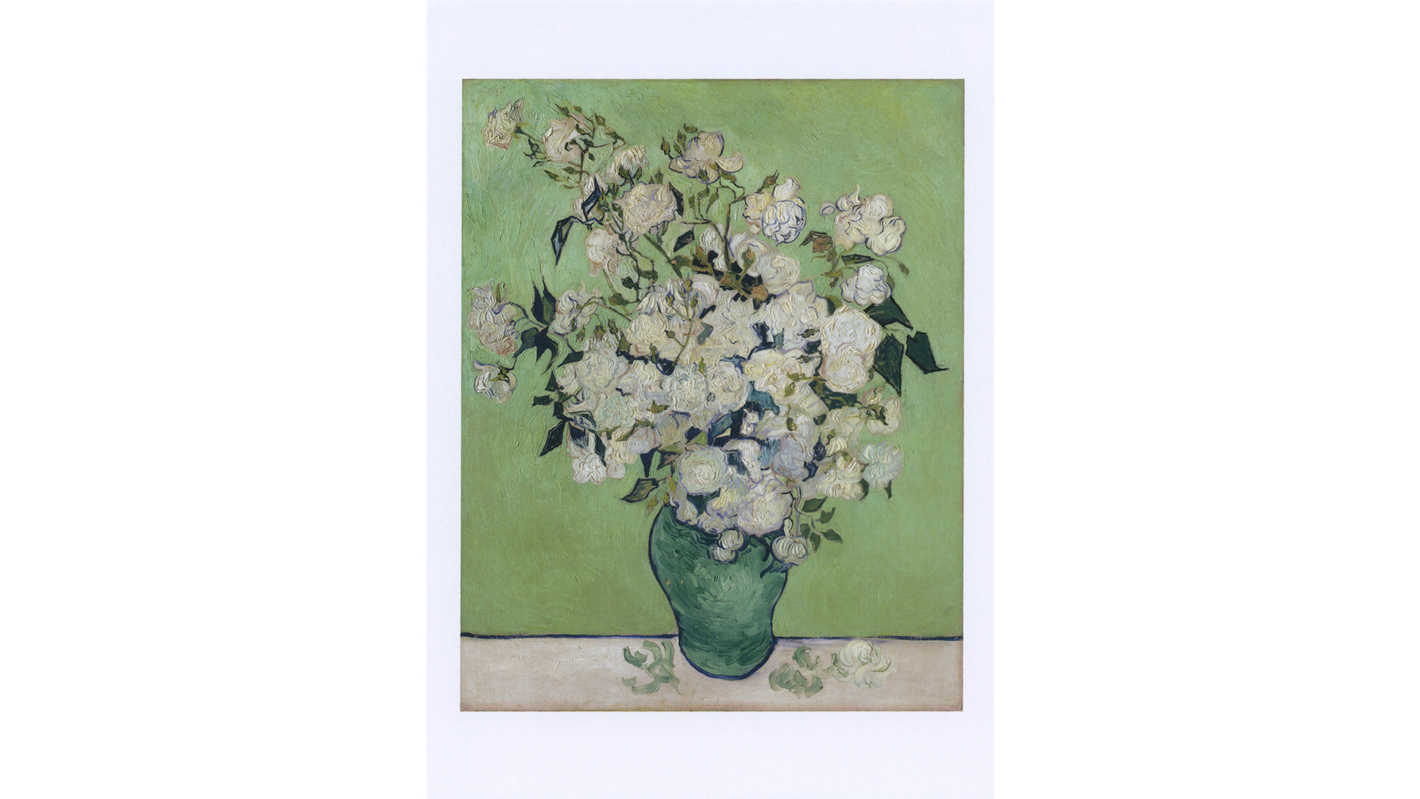 Vincent Van Gogh, Vase of Roses, 1890