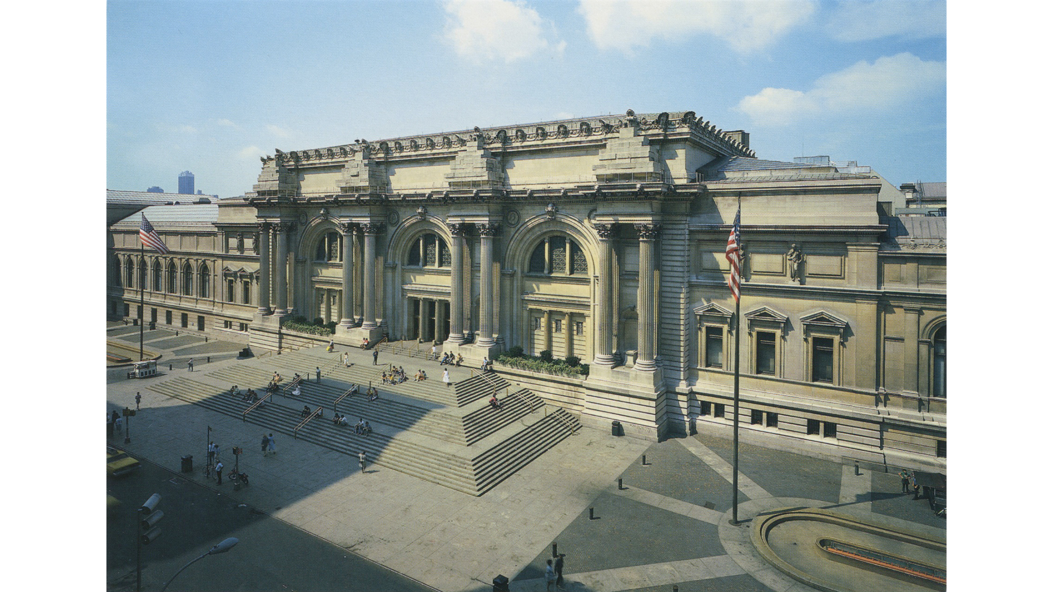 View of The Metropolitan Museum of Art