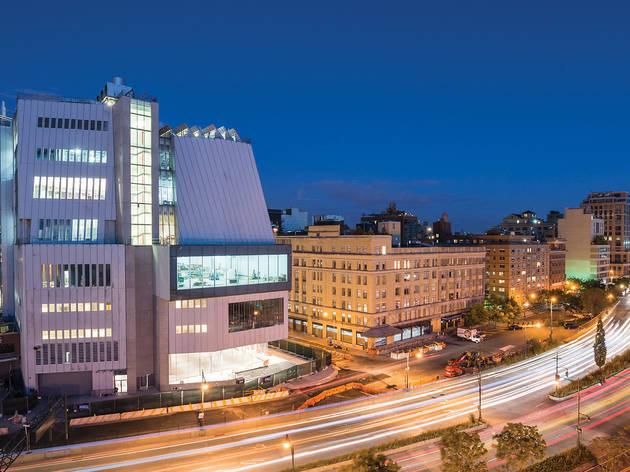 View of the Whitney building