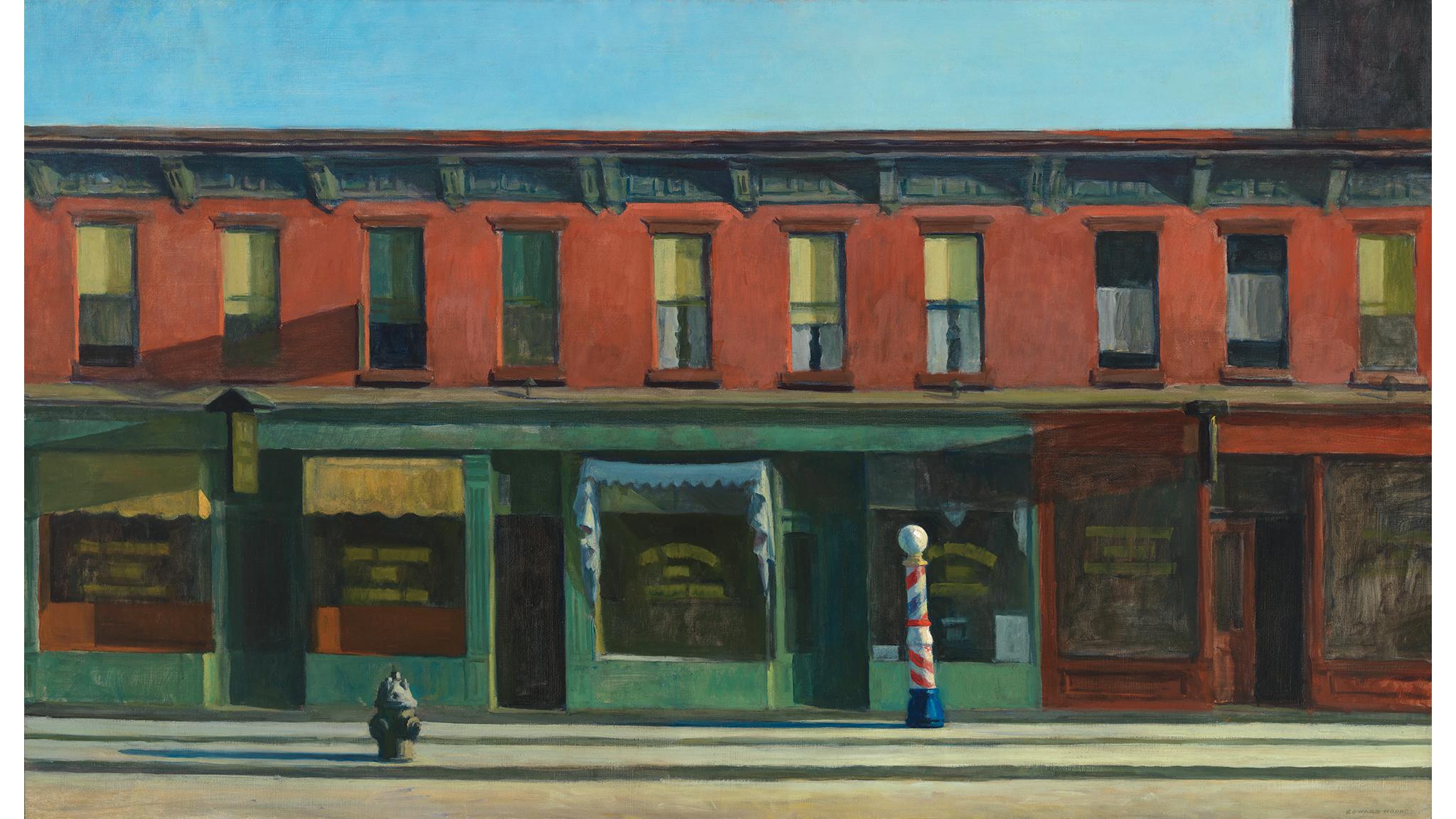 Edward Hopper, Early Sunday Morning, 1930