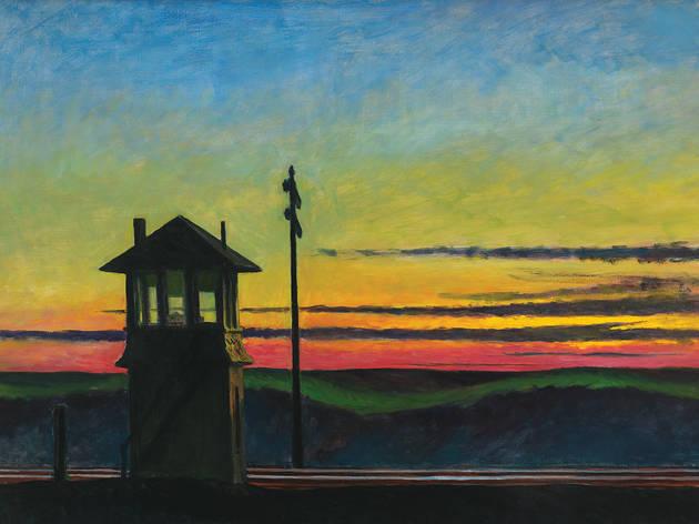 Edward Hopper, Railroad Sunset, 1929