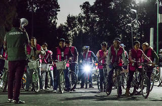 Paseo nocturno en bicicleta Primavera