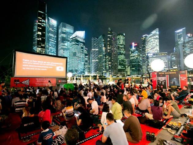 Best free outdoor film screenings in Singapore