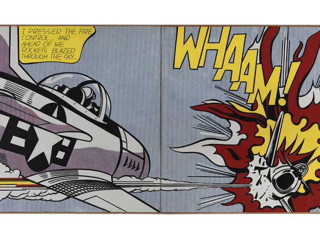 (© Estate of Roy Lichtenstein)
