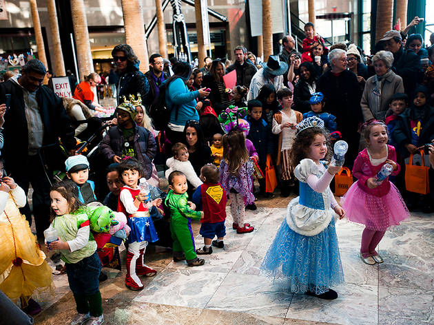 Free Halloween events in NYC