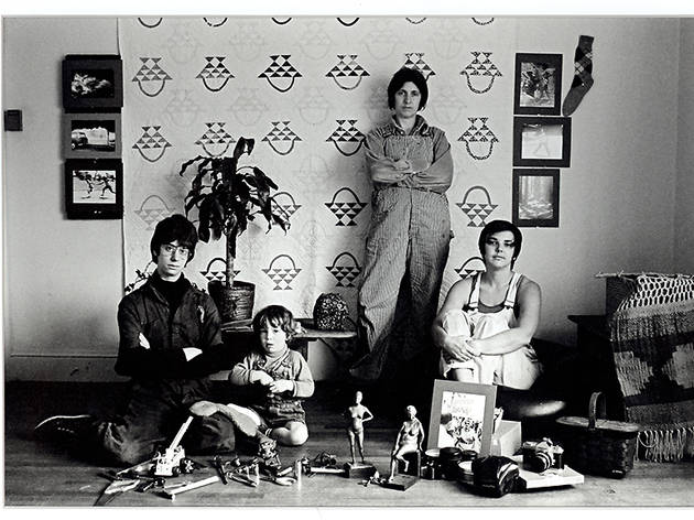 Cathy Cade, Emerson Street Household, Berkeley, CA., 1973, panchromatic black- and-white print