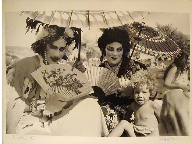 Fayette Hauser, Tahara and Kreemah at Sonoma, 1970, silver gelatin print
