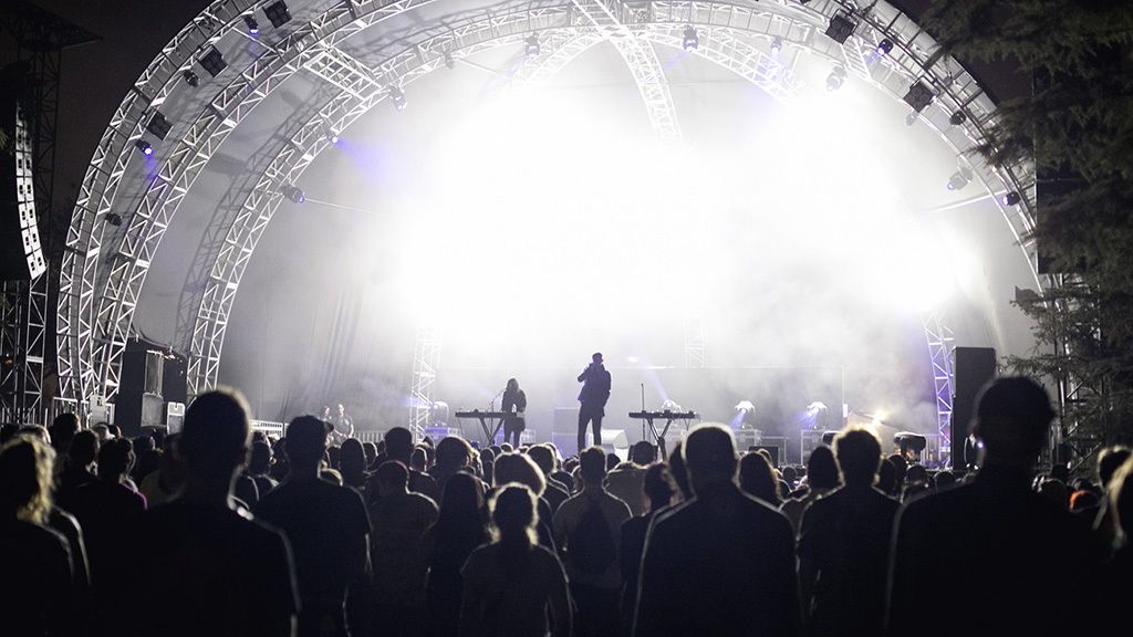 Cold Cave at FYF 2015, day 1