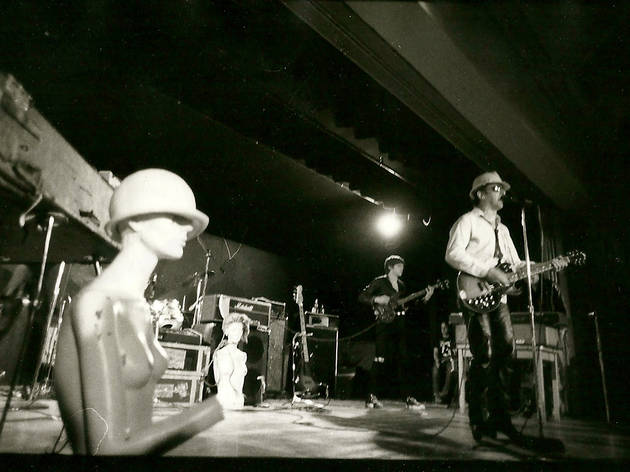 Band at an anonymous club, 1981